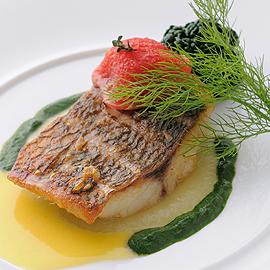フランス料理(フレンチ) ディナーメニュー3 魚料理